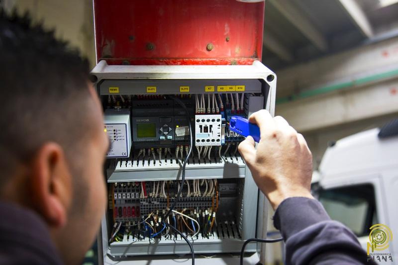 riparazione impianti elettroidraulici oleodinamica piana porto torres